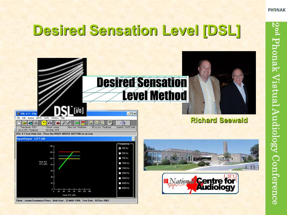 Desired Sensation Level [DSL]